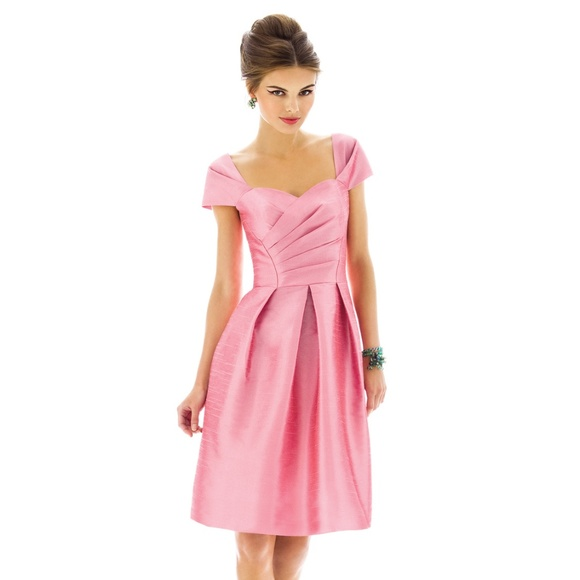 06594bf411bb Alfred Sung Dresses & Skirts - Alfred Sung Bridesmaid Dress D574 Pearl Pink